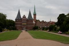 Hansestadt Lübeck mit Holstentor